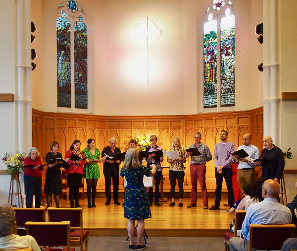 PMC Singers Christian Aid concert May 2019