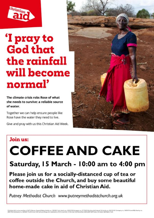 Christian Aid poster 2021