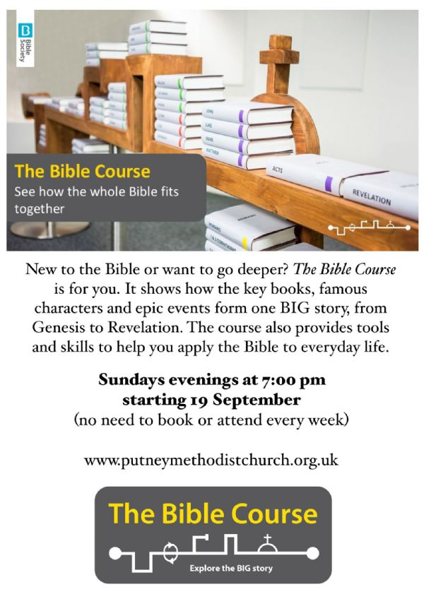 Bible Course poster