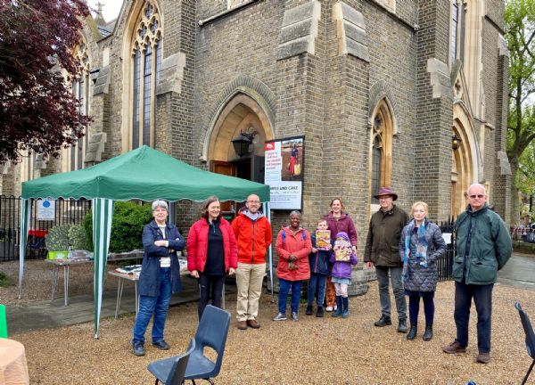 Christian Aid Coffee Morning 2021 with Fleur Anderson MP