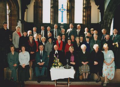Jim's retiral group photo