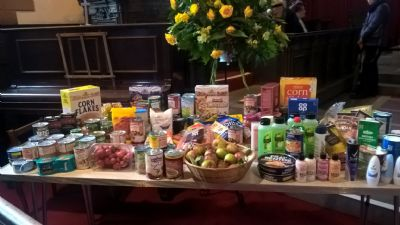 harvest thanksgiving donations