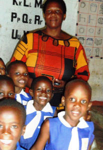 Luweero school Headmistress