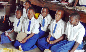 School Luweero pupils
