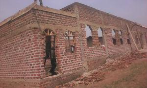 Kabira church construction Dec 2018