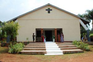 Grace church, Kansanga July 31 2010