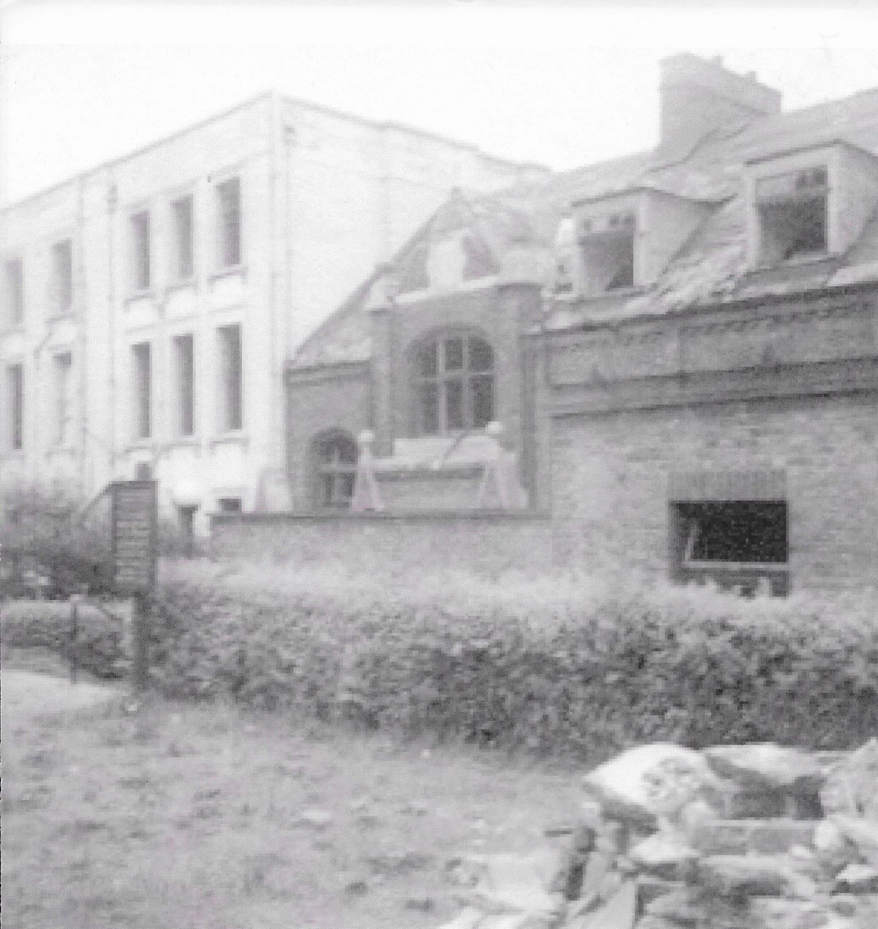 39 Honor Oak Road damaged by a bomb in 1944
