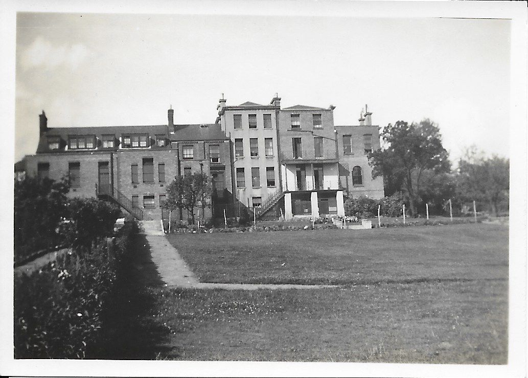 Back of Forest Hill House School in 1927 with playing fields