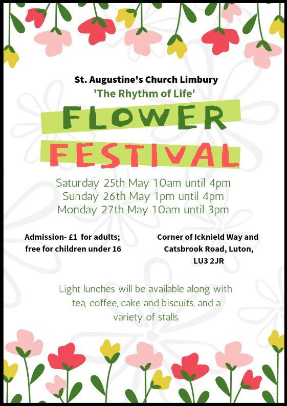 Flower Festival Poster