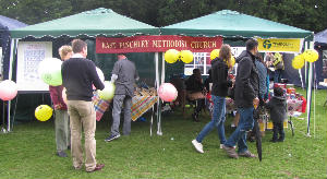 EF Community Festival Stall