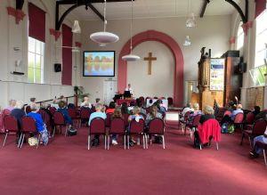 Church first Sunday back 5 Sept 2021
