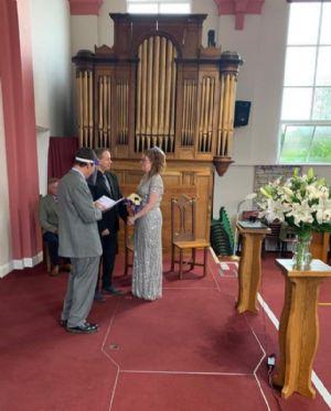 David  Laura wedding