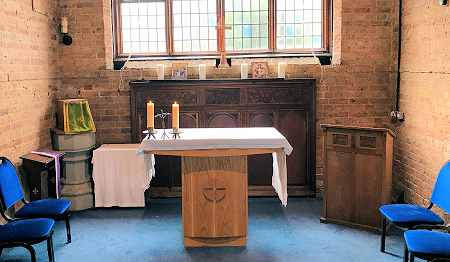 The Blessed Sacrament Chapel