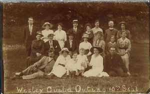Church Outing 1922