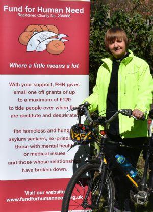 Gill Hulme Cycle to Blackpool