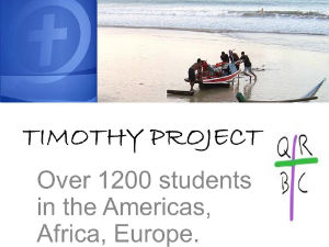 timothyproject