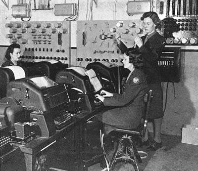 WW2 teleprinter operators