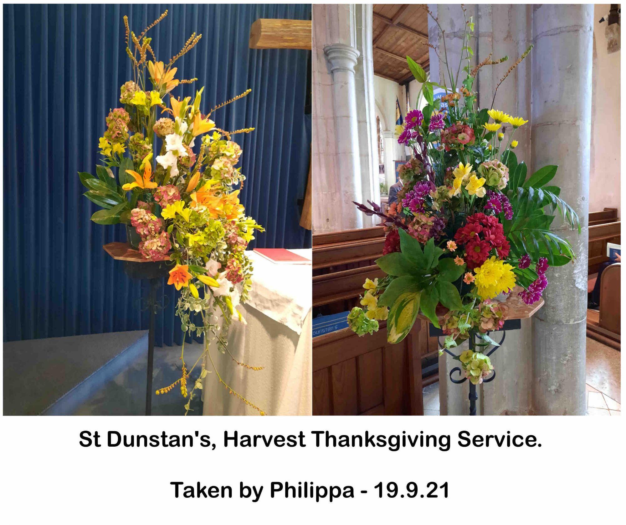 St Dunstan's, Harvest Thanksgiving Service(1)