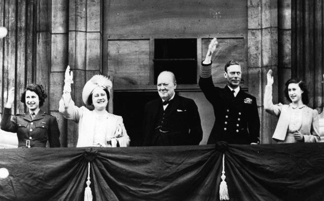 The Royal Family & Winston
