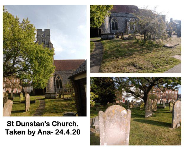 St Dunstan's Church.