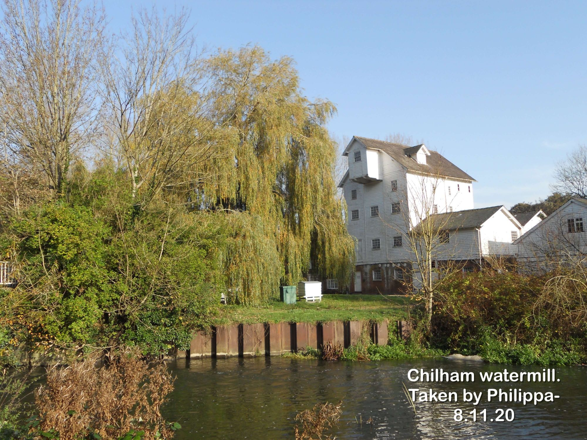 Chilham watermill.
