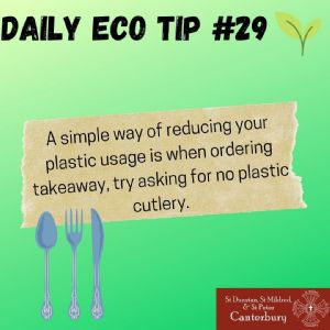 Daily Eco Tip 29