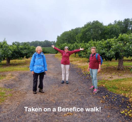Taken on a Benefice walk!