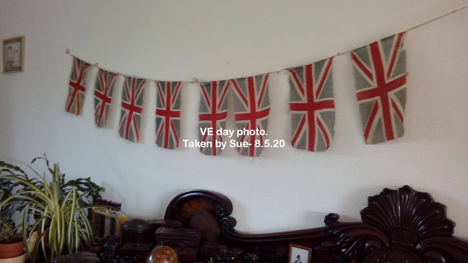 VE day photo. Taken by Sue