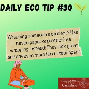 Daily Eco Tip 30
