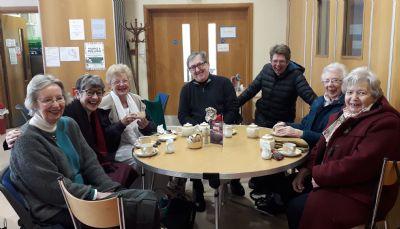 Wednesday, post Eucharist coffee shop