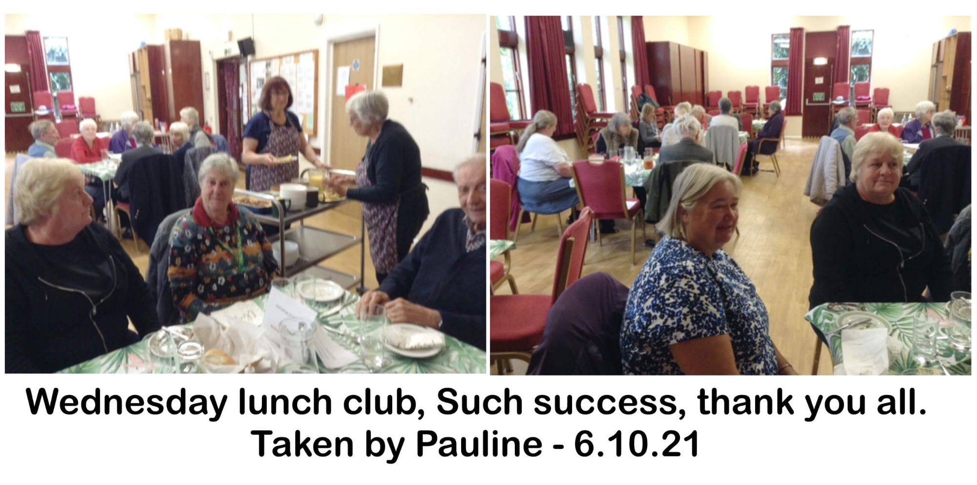 Wednesday lunch club, Such success, thank you all.
