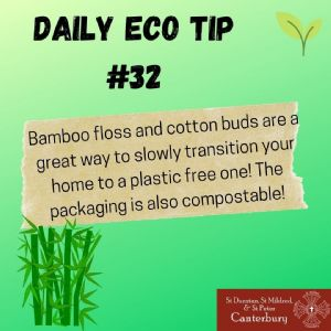 Daily Eco Tip 32