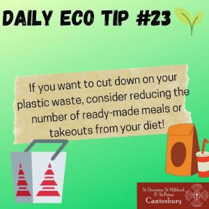 Daily Eco Tip 23