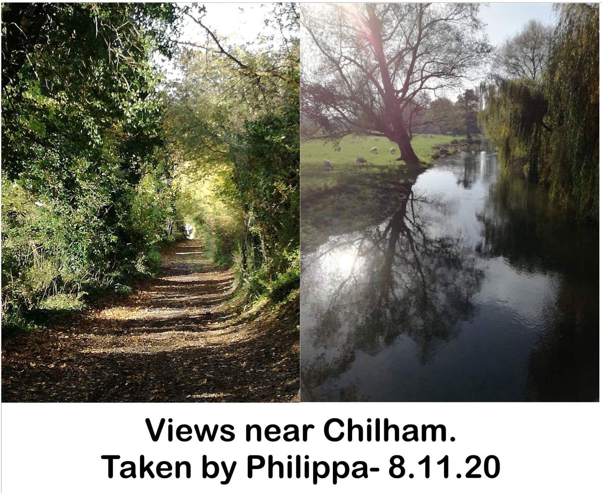 Views near Chilham.