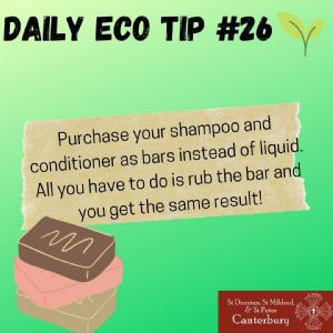 Daily Eco Tip 26