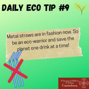 Daily Eco Tip 9