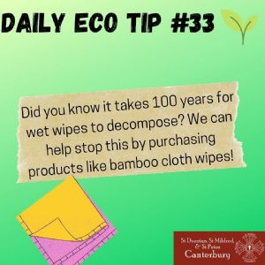 Daily Eco Tip 33