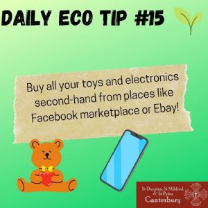 Daily Eco Tip 15