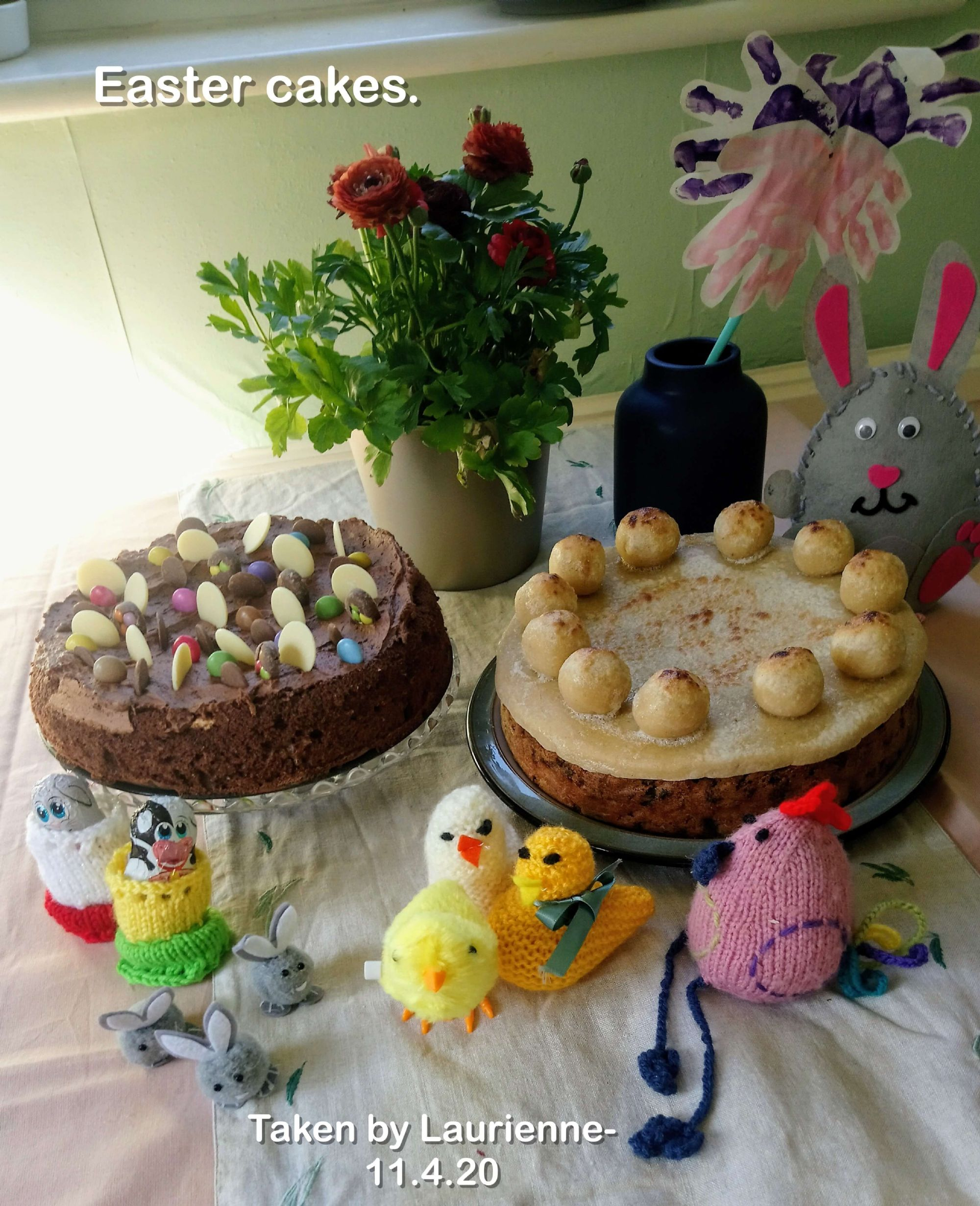 Easter cakes.