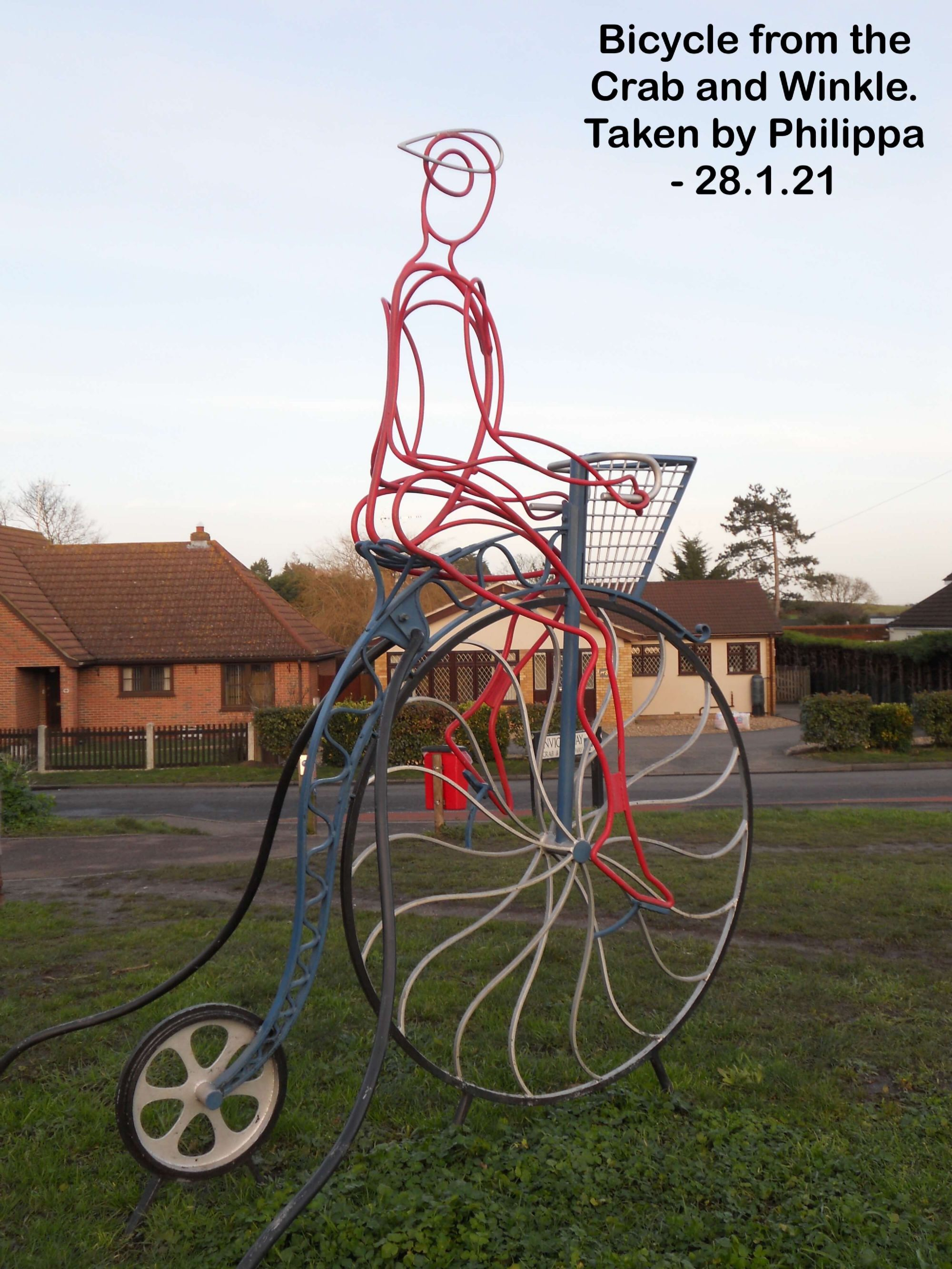 Bicycle from the Crab and Winkle.