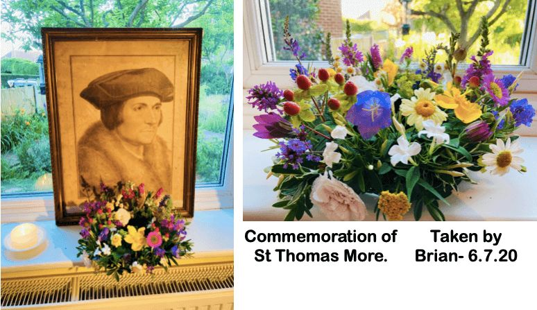 Commemoration of St Thomas More.