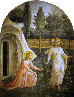 Noli me tangere by Fra Angelico