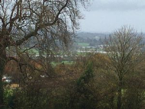 Floods down the valley