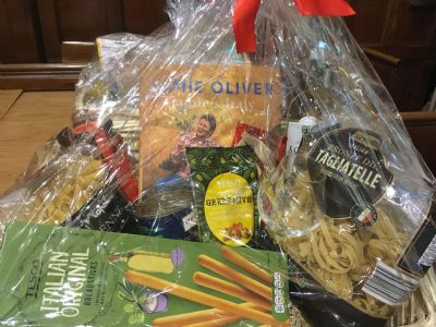 Italian flavour hamper with a little help from Jamie