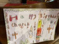 Happy  Birthday church 6
