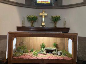 Easter Altar Display