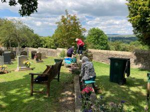 Memorial Garden Working Party