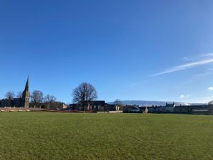 Church View across the playing field