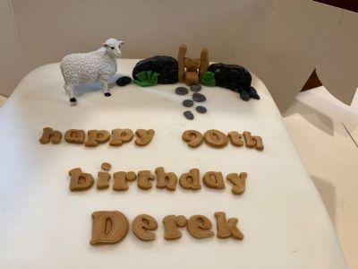 Derek's Birthday Cake