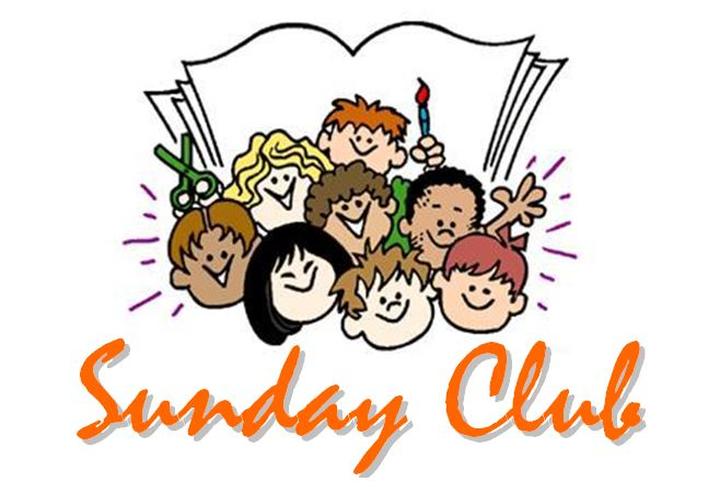 Sunday Club depicting cartoon children
